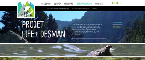 Life desman France